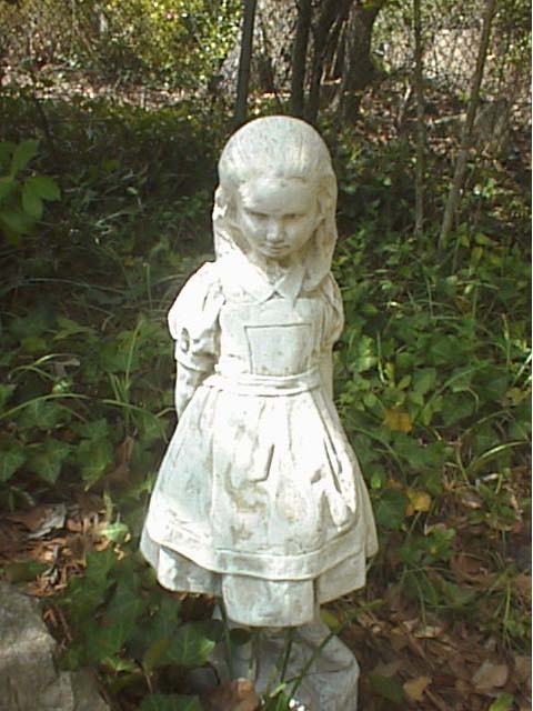 Eric harshbarger 39 s alice pages - Alice in wonderland garden statues ...
