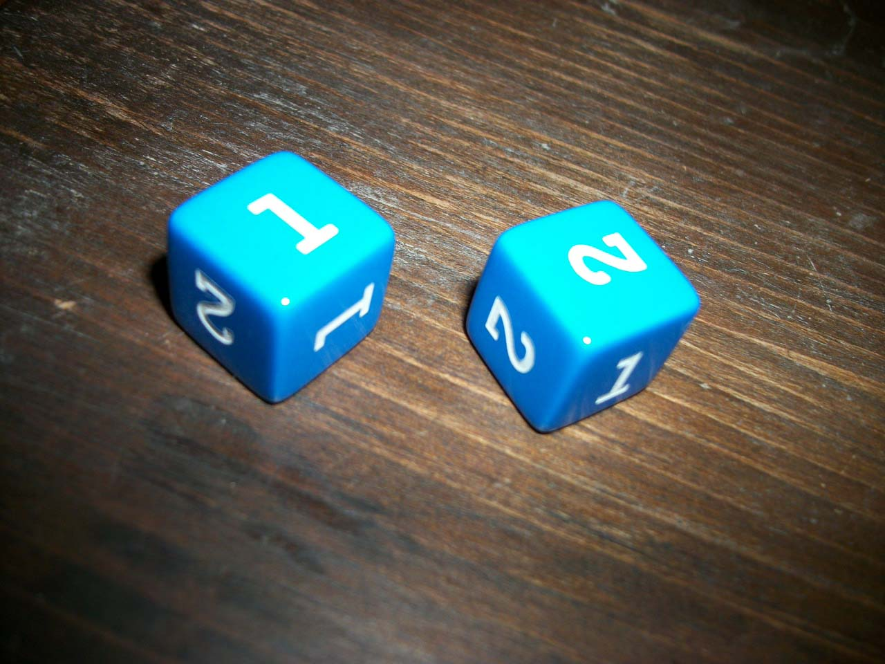 2 sided dice online