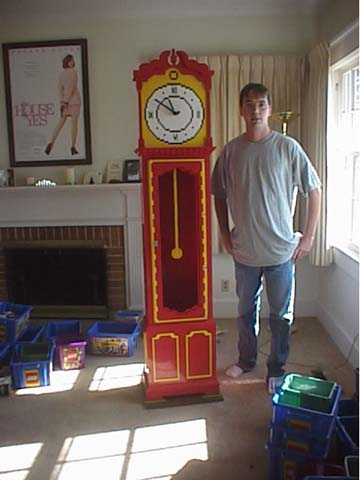Lego grandfather clock