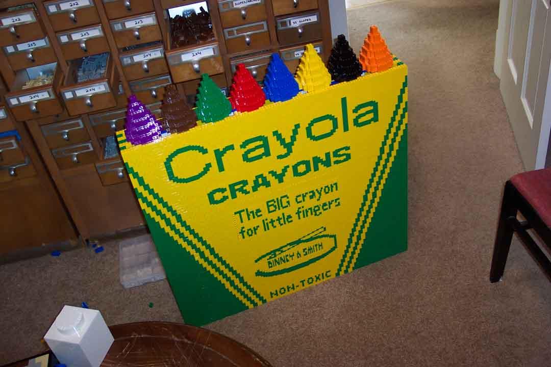 Purple Crayola Crayon Crayola Crayon Box -- ...