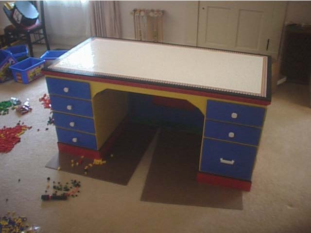 Lego Desk, Lego Ideas, Lego Builder, Eric Harshbarger