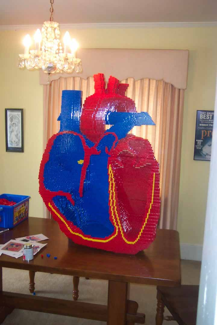 Heart LEGO