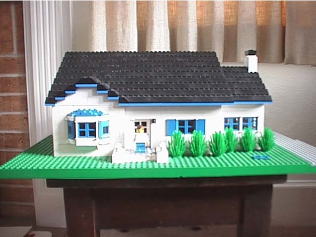 Building a scale house model