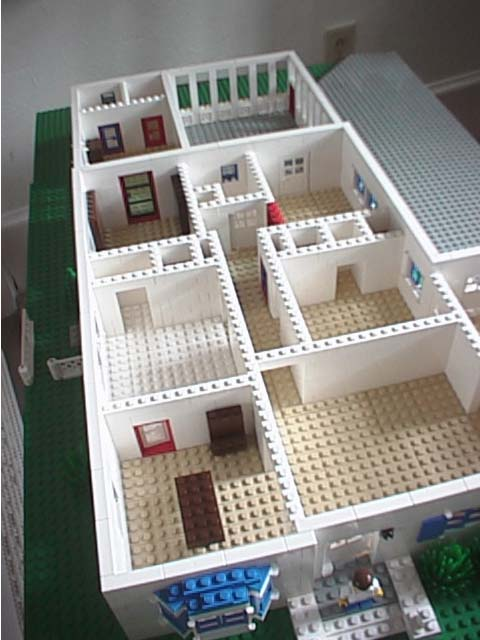 Superieur An Overview My House LEGO. Lego House Interior.