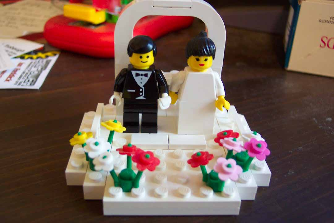 Wedding Cake Lego